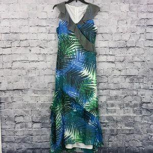 Calvin Klein Flowy Maxi Dress 09980